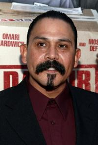 Emilio Rivera at the screening of