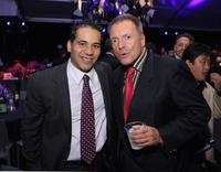 Armand Assante and John Ortiz at the after-party of the world premiere of