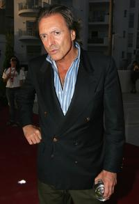 Armand Assante at the Cafe Del Mar party at the first Ibiza and Formentera Film Festival.