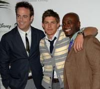 Paul Adelstein, Chris Lowell and Taye Diggs at the Disney and ABC's TCA - All Star Party.