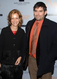 Chris Weitz and Deborah Forte at the premiere of