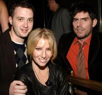 Eddie Kaye Thomas, Ari Graynor and Chris Weitz at the after party of the premiere of