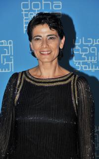 Hiam Abbass at the DTFF Closing Night Ceremony during the 2009 Doha Tribeca Film Festival.