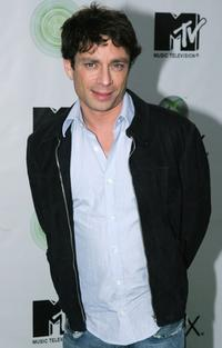 Chris Kattan at the Xbox's next generation console launch party.