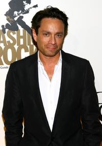 Chris Kattan at the Rock and Republic and Conde Nast Fashion Rocks Pre-Party during the Mercedes-Benz Fashion Week Spring 2008.