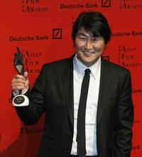 Song Kang-ho at the 1st Asian Film Awards.