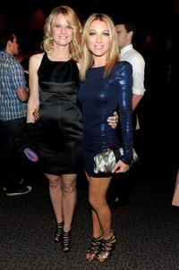 Joelle Carter and Natalie Zea at the premiere of