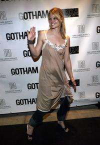Joelle Carter at the party at QUO sponsored by the Gersh Agency.