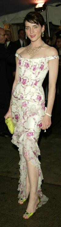 Michele Hicks at the Dangerous Liasons: The Art of Seduction The Metropolitan Museums Costume Institute Benefit Gala.