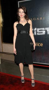 Michele Hicks at the premiere party of