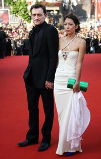Jean-Paul Rouve and Guest at the opening ceremony of the 59th edition of International Cannes Film Festival.