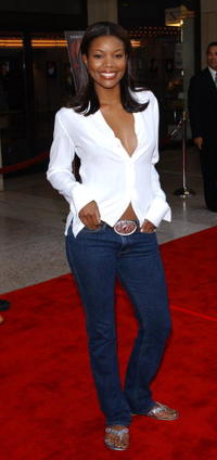 """Gabrielle Union at the premiere of the film """"O"""" in Los Angeles."""