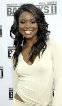 """Gabrielle Union at the premiere of """"Bad Boys II """"in Westwood, California."""