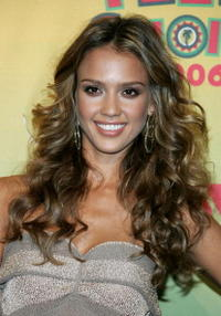Jessica Alba at the 8th annual Teen Choice Awards in Universal City.