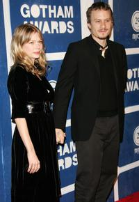 Heath Ledger and his girlfriend Michelle Williams at the IFP's (Independent Feature Project) 15th Annual Gotham Awards.