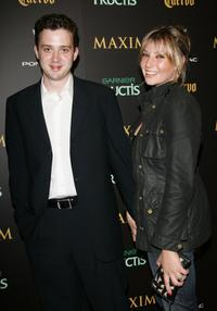 Eddie Kaye Thomas and date at the Maxim Magazine's 7th Annual Hot 100 party.