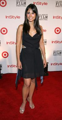 Jordana Brewster at the Los Angeles Film Festival's First Annual