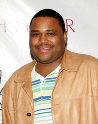 Anthony Anderson at the auction and party for Nelly's charity 4Sho4Kids.