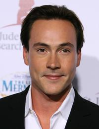 Chris Klein at the Runway For Life Benefiting St. Jude Hospital.