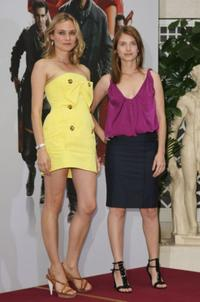 Diane Kruger and Melanie Laurent at the photocall of