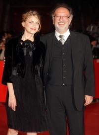 Melanie Laurent and Alessandro Capone at the premiere of
