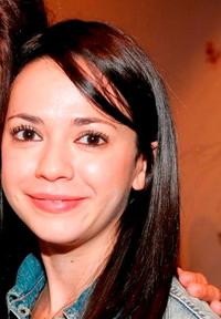 Vanessa Martinez at the after party for the Celebrity Reading of