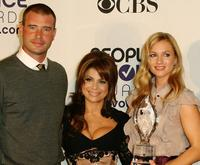 Scott Foley, Paula Abdul and A.J. Cook at the 34th Annual People's Choice Awards Nominations Announcements and Party.