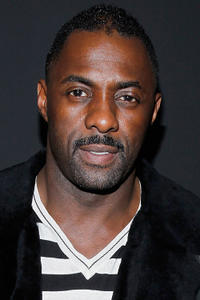 Idris Elba at the Y-3 Fashion Show in New York.