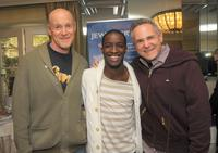 Producer Neil Meron, Elijah Kelley and Producer Craig Zadan at the 2008 World Experience DPA gift lounge.