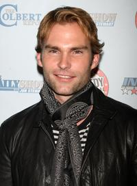 Seann William Scott at the Comedy Central's Indecision 2008 Election Night viewing party.