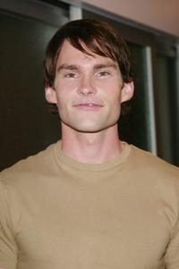 Seann William Scott at the MTV's Total Request Live to promote