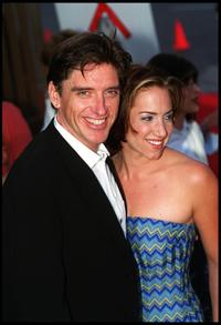 Craig Ferguson and his wife Sasha at the premiere of