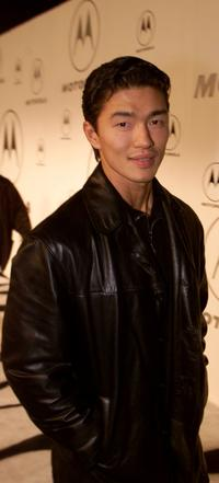 Rick Yune at the 2nd annual Motorola party.