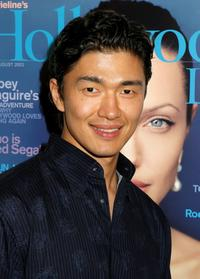 Rick Yune at the Movielines Hollywood Life's 3rd Annual Breakthrough of the Year Awards.