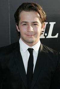 Michael Angarano at the Hollywood Life magazines 10th Annual Young Hollywood Awards.