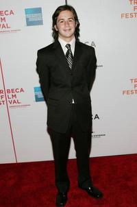 Michael Angarano at the premiere of