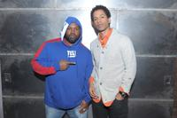 Raekwon and Toure at the fuse TV in New York City.