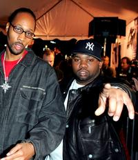 Rza and Raekwon at the Los Angeles premiere of