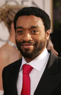 Chiwetel Ejiofor at the 64th Annual Golden Globe Awards.