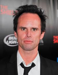 Walton Goggins at the series finale screening of
