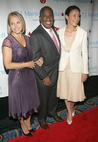 Katie Couric, Al Roker and Ann Curry at the T.J. Martell Foundation 30th Anniversary Gala.