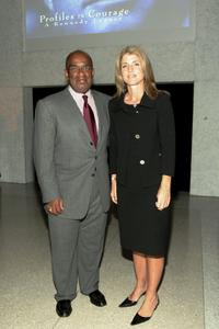 Al Roker and Caroline Kennedy at the Profiles In Courage: A Kennedy Legacy.