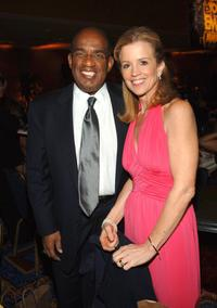 Al Roker and Jane Hanson at the 2006 New York Emmy Awards.