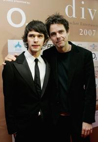 Ben Whishaw and Tom Tykwer at the ceremony of the Diva Awards 2007.