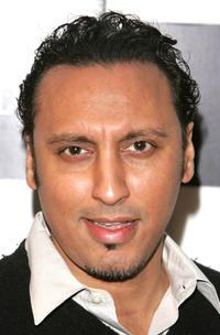 Aasif Mandvi at the premiere of