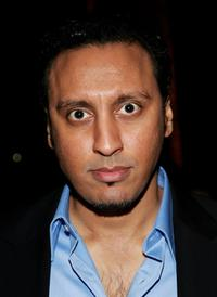 Aasif Mandvi at the opening night afterparty of