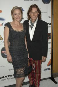 Caroline Goodall and George Blodwell at the Australians In Film 2006 Breakthrough Awards.