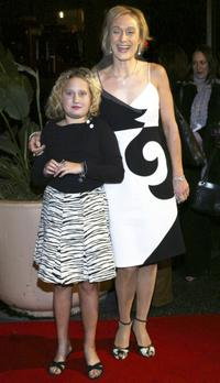 Caroline Goodall and her daughter Jemmi at the premiere of