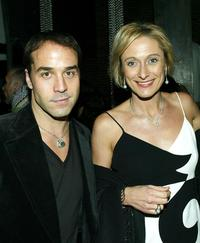 Jeremy Piven and Caroline Goodall at the premiere of