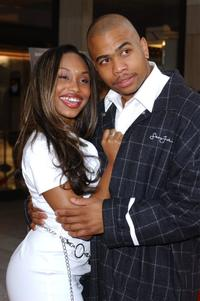 Angell Conwell and Omar Gooding at the Los Angeles premiere of